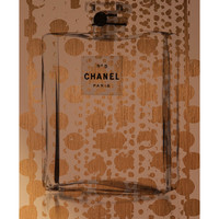 Marmont Hill Gold Spotted Chanel (Framed Canvas)