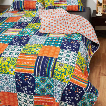 Peace of Patchwork Quilt Set in Full/Queen
