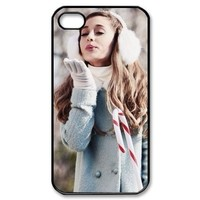 Ariana Grande Custom Printed Design Durable Case Cover for Iphone 4 4S
