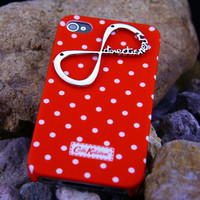 Cath Kidston White Spot ,infinity one direction iphone 5 Case ,Cover 5