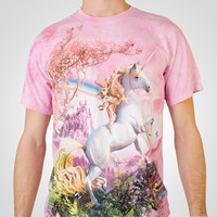 Awesome Rainbow Unicorn T-Shirt at Firebox.com