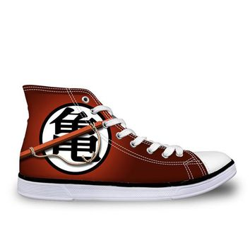 Dragon Ball Z High Top Shoes Goku Style 6