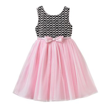 Youngland Chevron Dress - Girls