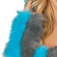 Cheshire Cat Fur Gloves