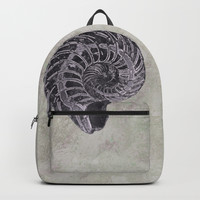 Ammonite study Backpack by anipani