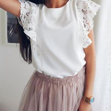 Alice Embroidery Women Top
