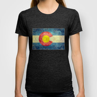Colorado State Flag T-shirt by Bruce Stanfield
