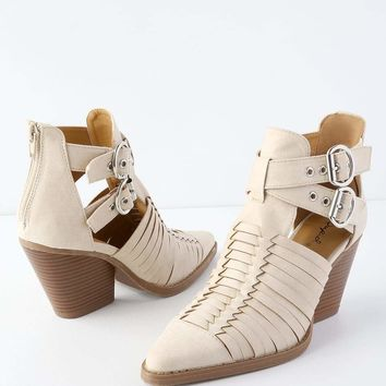 'Zoey' Strappy Booties