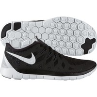 Nike Boys' Grade School Free 5.0 Running Shoe - Black/White | DICK'S Sporting Goods
