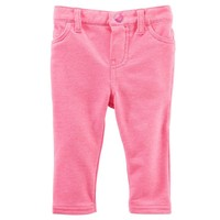 OshKosh B'gosh Knit Jeggings - Baby Girl, Size: