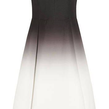 Halston Heritage - Ombré faille dress