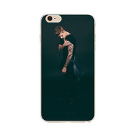 For iPhone 6S Case Justin Bieber Super Star Soft Flexible Thin Gel TPU Skin Scratch-Proof Case Cover for iPhone 6 6S 4.7 inch