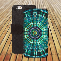 iphone 6 case blues mandala colorful iphone 4/4s iphone 5 5C 5S iPhone 6 Plus iphone 5C Wallet Case,iPhone 5 Case,Cover,Cases colorful pattern L511