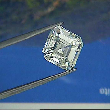 0.95ct F-VS1 Asscher cut Loose Diamond GIA certified DIAMOND SOLAR