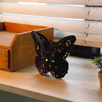 Decoration Creative Korean Style Butterfly Candle Stand = 5893916929