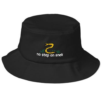 No Step On Snek Flexfit Bucket Hat