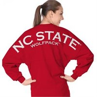 North Carolina State University Wolfpack Spirit Football Jersey - Spirit Football Jersey