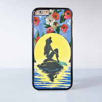 Little Mermaid Plastic Case Cover for Apple iPhone 4 4s 5 5s 5c 6 6s Plus