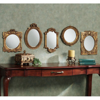 Timeless Tradition Decorative Wall Mirror Set