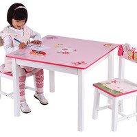 Guidecraft Butterfly Buddies Table & Chairs Set - G86602