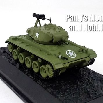 M24 Chaffee Tank 1/72 Scale Die-cast Model by Amercom