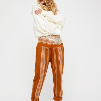 Free People Wide Yoke Pull On Pant