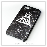 Fall Out Boy Sparkle iPhone 4 4S 5 5S 5C 6 6 Plus , iPod 4 5 , Samsung Galaxy S3 S4 S5 Note 3 Note 4 , HTC One X M7 M8 Case