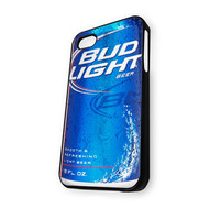 Blue Bud Light Beer iPhone 5/5S Case