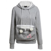 VONE05R Hats Winter For Cats & Dogs With Pocket Pets Hoodies [14118486036]