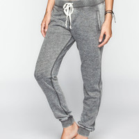 FULL TILT Burnout French Terry Womens Jogger Pants 243503110 | Bottoms
