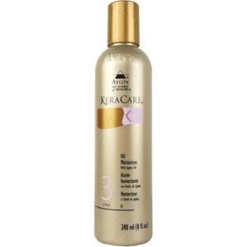 KeraCare Oil Moisturizer with Jojoba Oil, 8 fl oz - Walmart.com