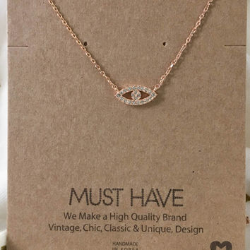 Must Have Evil Eye Necklace