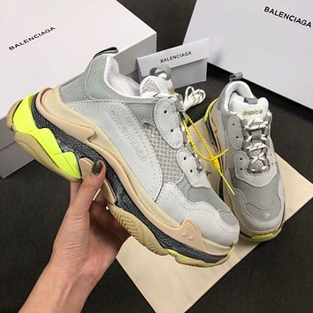 Balenciaga Triple-S Xia Gu jogging shoes-12