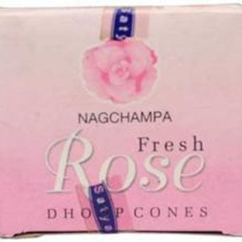 Rose incense cone 12 pack