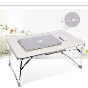 Fashion Portable Folding Laptop Table Picnic Folding Table Laptop Table Stand Computer Notebook Bed Tray