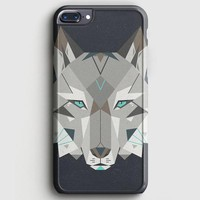 Wolf Head Typo iPhone 7 Plus Case