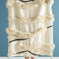 Textured Outre Throw Blanket