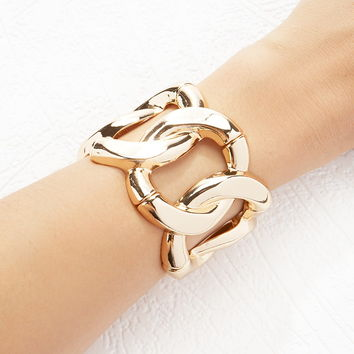 Curb Chain Stretch Bangle | Forever 21 - 1000162223