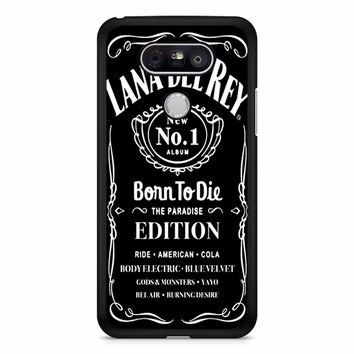Lana Del Rey Born To Die Black LG G5 Case