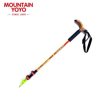 Walking Stick Hiking Cane Nordic Walking Poles Anti-shock Anti-skid Trekking Poles