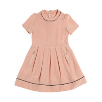 Marni Girls Silk Salmon Dress