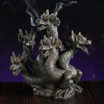 Walmart: Elegant Expressions by Hosley 5-Headed Smoke Breathing Dragon Incense Burner