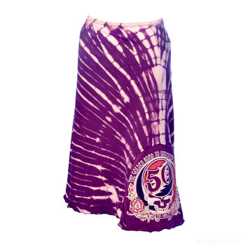 Grateful Dead - 50th Anniversary Tie Dye Skirt