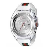 GUCCI fashion trendy men and women watch F-PS-XSDZBSH White