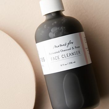 Min-Erbs Mama's Glow Activated Charcoal & Rose Face Cleanser