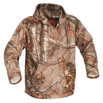 ArcticShield Midweight 1/4 Zip Hoodie-Realtree Xtra-LG