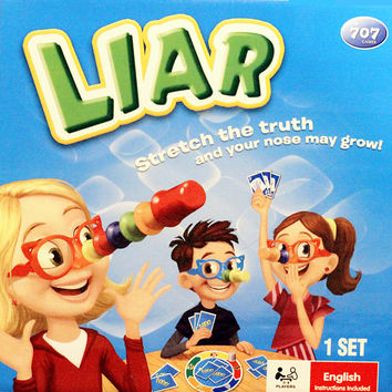 Liar Board Game ,Stretch the Truth and Your Nuse May Grow ,Party/Family Puzzle Game For Children with English Instructions