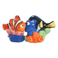 Disney Finding Nemo Dory And Marlin Salt And Pepper Shakers