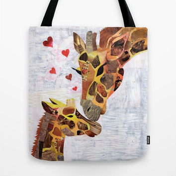 Giraffe Tote Bag, Giraffe Bag, Canvas Tote Bag Womens Totes, Shopping Tote Beach tote shopping bag, womens bag, giraffe art