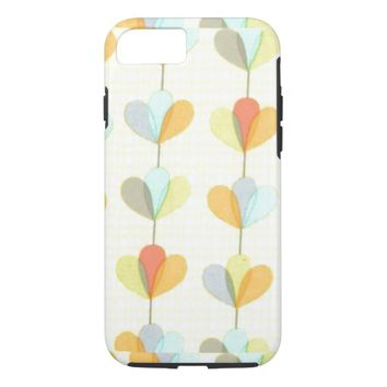 Cool Vintage floral pattern retro iPhone 7 Case